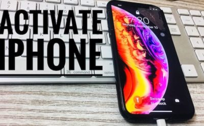 Could Not Activate iPhone X Plus after Update