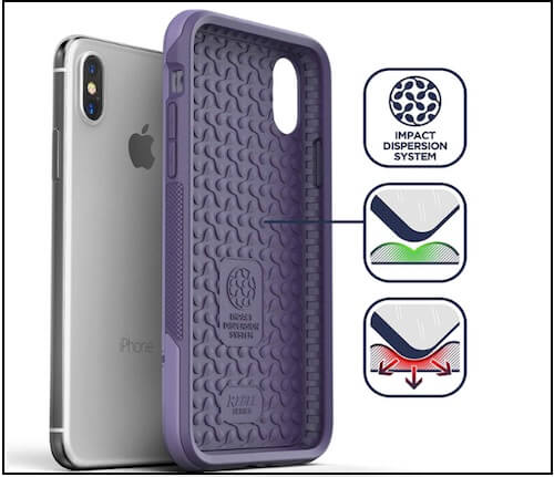2 Encased Heavy Duty iPhone XS Max Military Grade Case