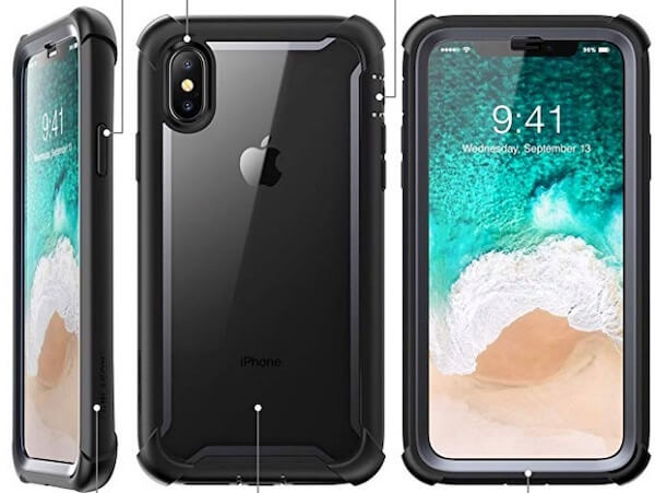 2 i–Balson iPhone XS Clear Case