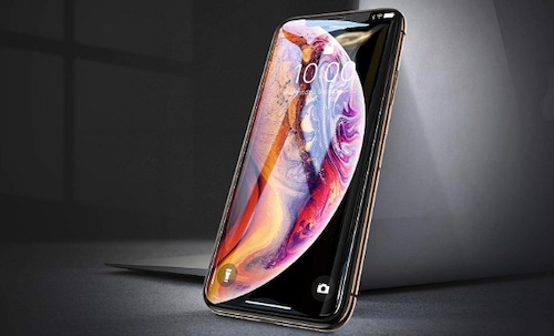 3 Aslanda Tempered Screen Protector for iPhone XS Max