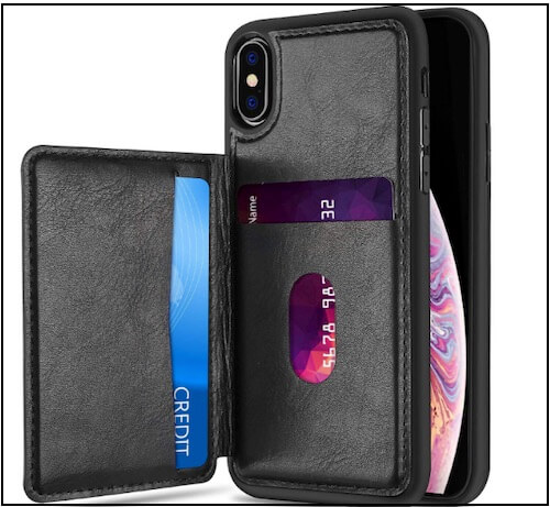 3 ProCase Wallet Case for iPhone XS Leather Wallet Max