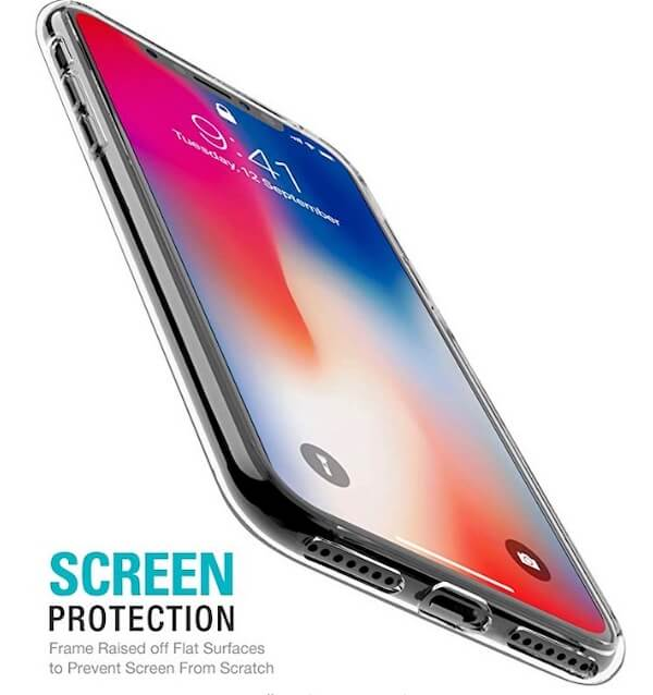 3 TOZO iPhone XS Max Clear case