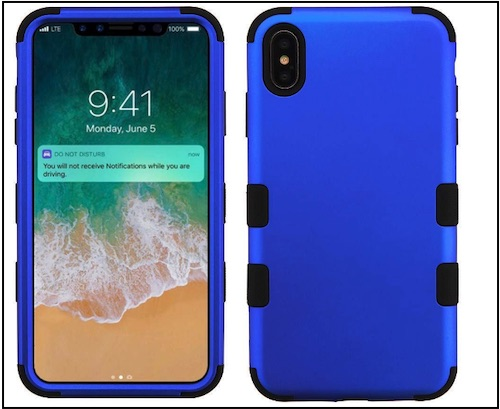 4 Tuff Hybrid Military Grade Case for iPhone XS Max