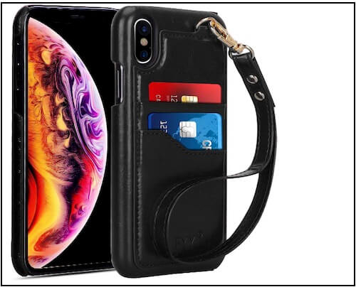 6 FYY Case for iPhone XS Leather Purse Max