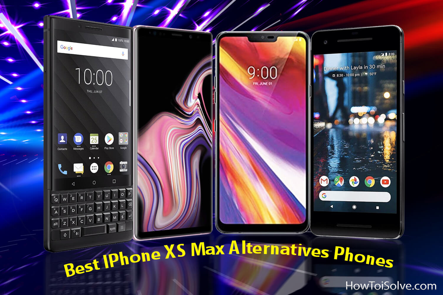 Best iPhone XS Max Alternatives Phones