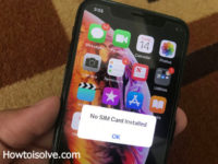 Solution to Fix Cant Activate iPhone XS, iPhone Xs Max, iPhone XR cause alert No SIM installed or invalid SIM
