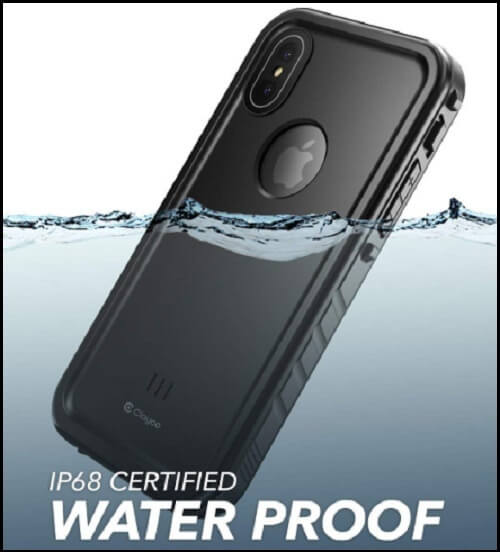 Clayco Waterproof Case for iPhone XS Max