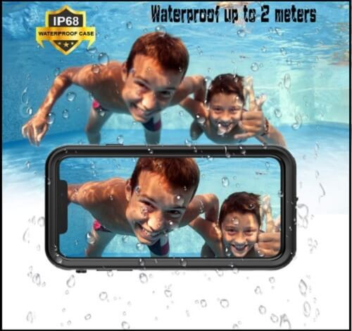 Fustonus iPhone XS Max Waterproof Cases