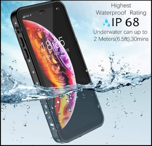 GOCOOL Waterproof Case for iPhone XS Max