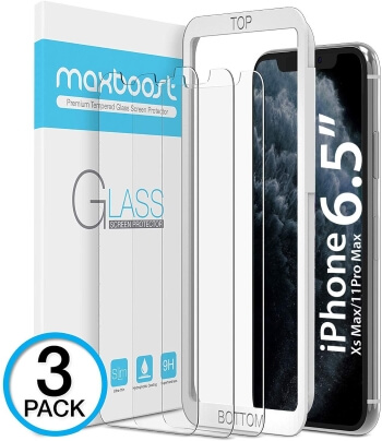 MaxBoost Screen Protector for iPhone XS Max