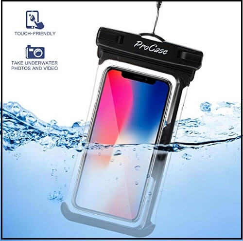 Procase Universal Waterproof Case for iPhone XS Max