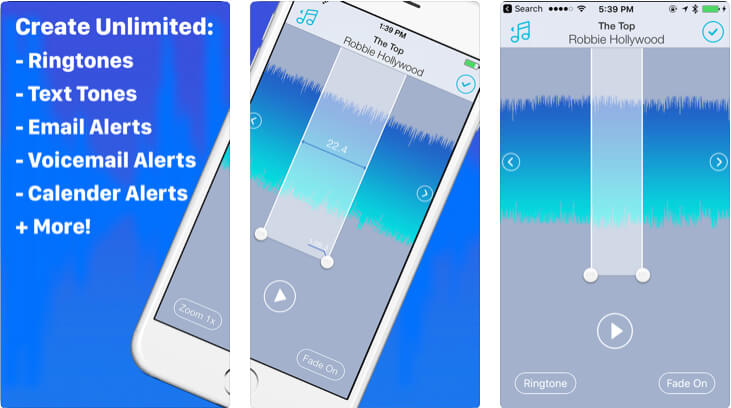 Ringtone Designer Pro 2.0 for iPhone