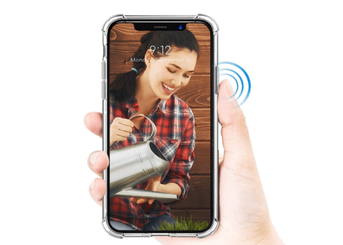 iPhone XS Clear case for FB cover page
