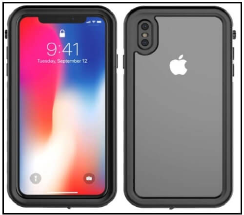 Yuqoka Waterproof Case for iPhone XS Max