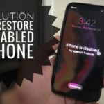 How to Remove or Reset forgot Passcode on iPhone XS Max when my XS Max is disabled