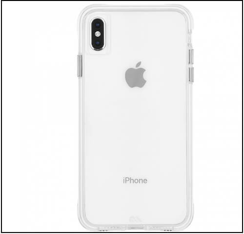 1 TOUGH CLEAR iPhone XS Max case