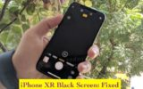 1 iPhone XR Black screen problem fixed