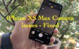1 iPhone XS max Camera Blurry