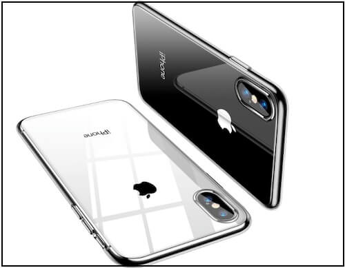 3 TORRAS, Slim Clear case for iPhone XS Max