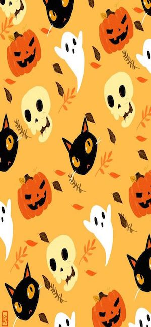 4 Halloween Wallpaper for iPhone XS Max iPhone XS and iPhone XR