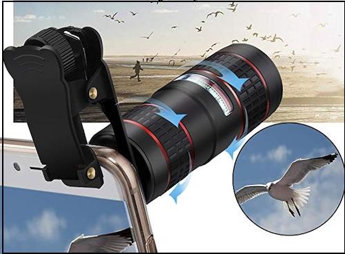 4 KNGUVTH Telephoto Lens upto 12X Zoom