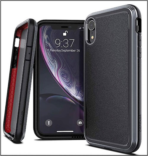 4 X-Doria iphone XS max metal case
