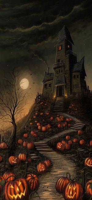 Iphone 11 Halloween Wallpaper