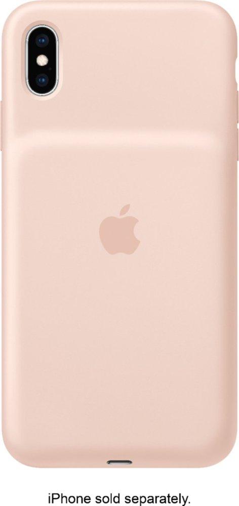 Чехол Smart Battery Case для iPhone XS Max в цвете Pink Sand