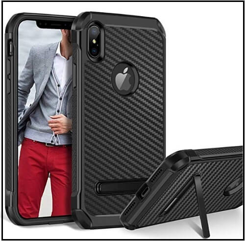 BENTOBEN carbon fiber Case cover for iPhone XS Max 6.5inch
