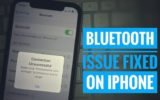 Bluetooth issues fixed on iPhone