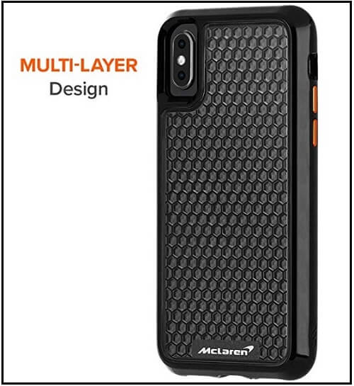 Case-Mate carbon fiber case cover for Apple iPhone XS Max