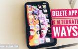 Delete app on iPhone XS max (1)