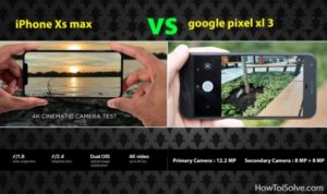 What is Difference Between Apple iPhone XS Max Vs Google Pixel 3 XL[infographic]