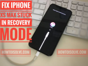 Fix iPhone XS Max Stuck on Recovery Mode Won't Restore Error: Free Troubleshooting Guide