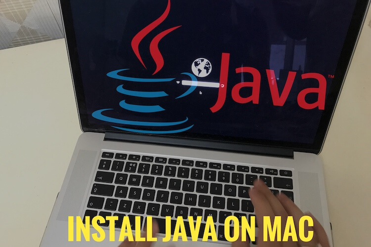 Install Java on Mac Mojave
