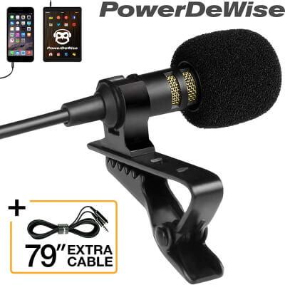 Lavalier Microphone – PowerDeWise Store