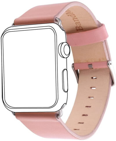Leather Strap band for Apple iWatch