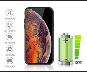 Maiphee best battery case for iPhone XS Max