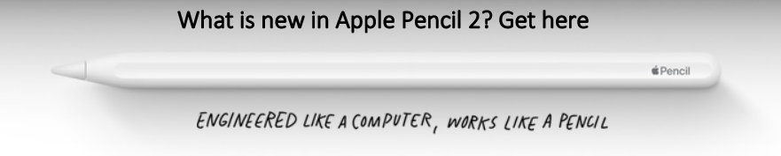What is new in Apple Pencil 2 nd Generation