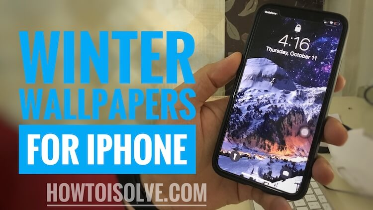 Winter Wallpaper for iPhone XS Max, iPhone XS, iPhone XR