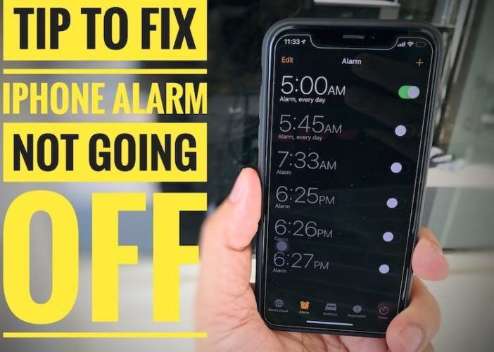 fix my iPhone alarm not going off (1)