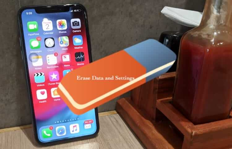 iPhone XR Reset to Factory Settings (1)