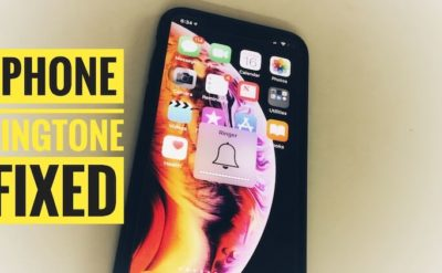 iPhone ringtone ring up issues
