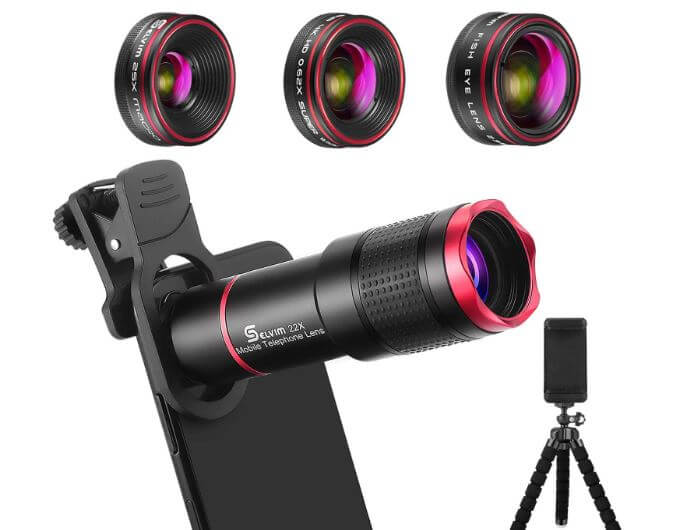 long distance lens for iPhone