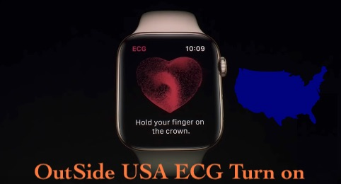 take ECG on apple watch 4