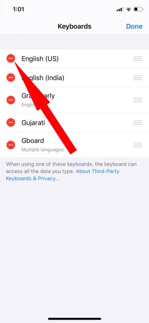 Delete Apple Keyboard