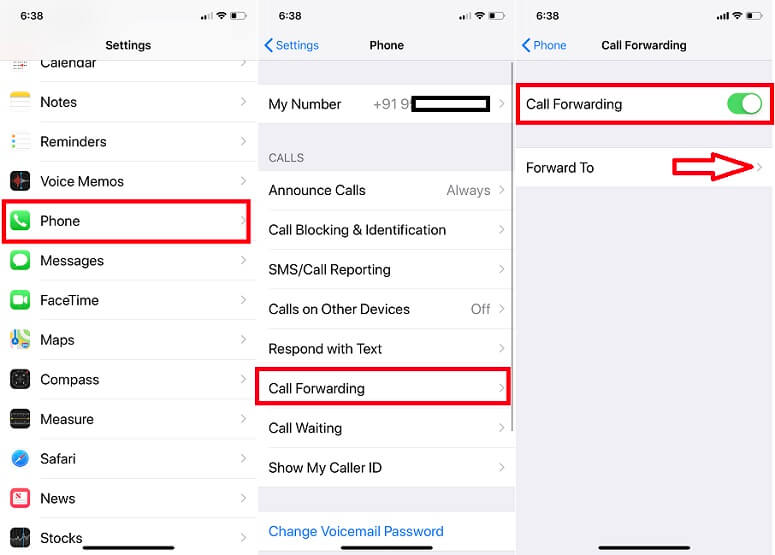 Enable Call Forwarding on iPhone Setup or Activate