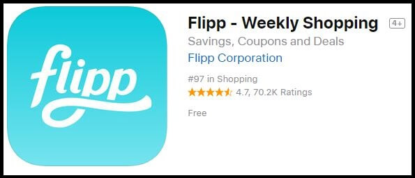 Flipp iPhone iPad money Saving shopping app