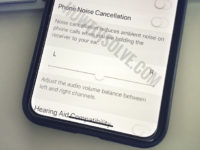Phone Noise Cancellation on iPhone XS Max