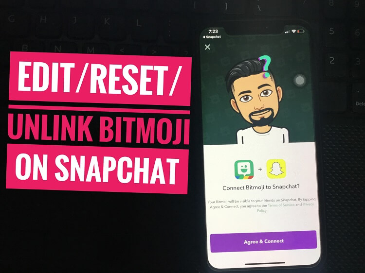 Reset Snapchat Bitmoji on iPhone (1)